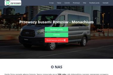 Firma Transportowa Ramona. Tadeusz Bielecki - Przewóz Osób Busem Czarna