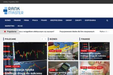 RankMaster - Pozycjonowanie Stron - Pozycjonowanie Stron w Google Kielce