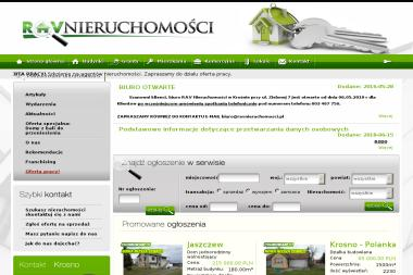 RAV Nieruchomości - Domy z bali Krosno