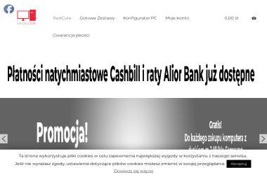 Redcore IT Andrzej Jabłoński. Serwis komputerów - Pozycjonowanie Stron WWW Chorzów