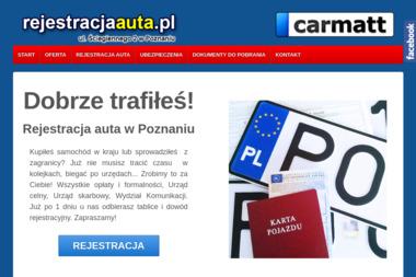 Carmatt Rejestracjaauta.pl - Ubezpieczenia OC Poznań