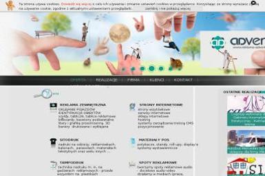 Advert Agencja Reklamowo-Promocyjna. Reklama zewnętrzna, projekty graficzne, spoty reklamowe - Reklama Żory