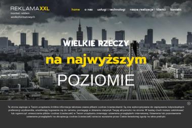 Reklama XXL Jarosław Kleczek - Prace na Wysokościach Głosków