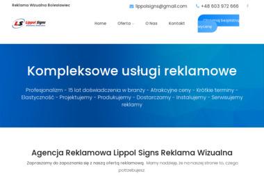 Reklama Wizualna Lippol-Signs - Agencja SEO Bolesławiec
