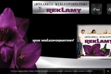 Drukarnia Wielkoformatowa Creativaa, reklama, reklamy na plandekach - Usługi Poligraficzne Sieradz
