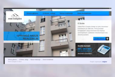 Zakład Remontowo-Budowlany Rem-Complex - Okna PCV Będzin
