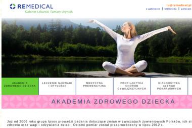 Remedical. Gabinet Lekarski Tamary Uryniuk - Dieta Odchudzająca Gdańsk