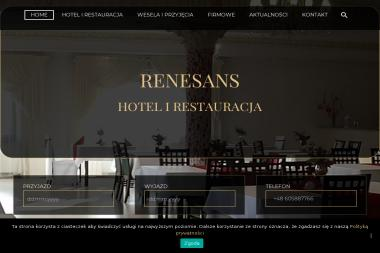 Hotel-Restauracja Renesans - Gastronomia Żórawina