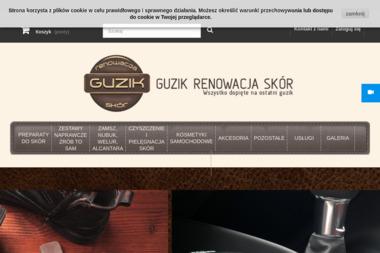 GUZIQSCARS renowacja skór guzik producent środków do renowacji skór - Tapicer Samochodowy Toruń