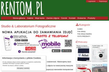 Laboratorium oraz Studio Fotograficzne Rentom Studio. Tomasz Durlik - Fotografowanie Błonie