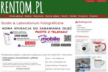 Laboratorium oraz Studio Fotograficzne Rentom Studio. Tomasz Durlik - Drukarnia Błonie