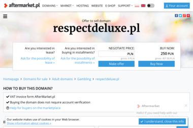 Małgorzata Czarniecka Masło Respect Deluxe - Transport Strzelce Opolskie