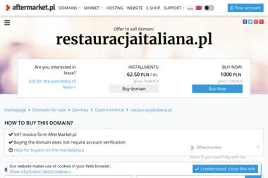 Restauracja Italiana - Catering Szamocin