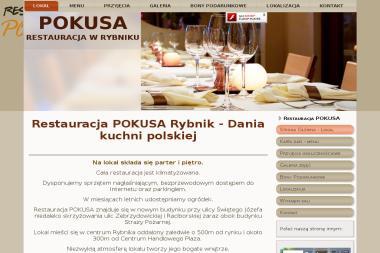 Restauracja Pokusa - Usługi Gastronomiczne Rybnik
