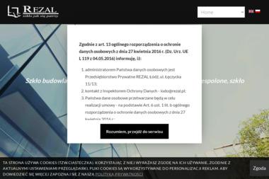 REZAL Przedsiębiorstwo Prywatne - Usługi Szklarskie Łódź