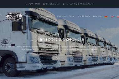 Rgl Robert Gajewski - Transport ciężarowy krajowy Opole