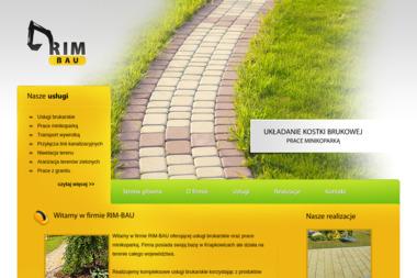 Rim-Bau Rajmund Watzlaw - Układanie kostki granitowej Krapkowice