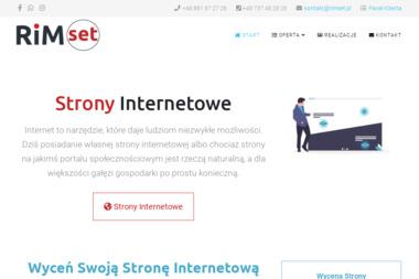 Rimset - Projektowanie i Administracja Stron Internetowych - Agencja interaktywna Duszniki-Zdrój