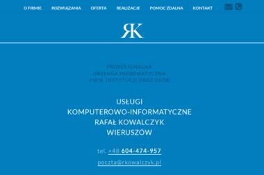 Usługi Komputerowo-Informatyczne - Agencja interaktywna Wieruszów