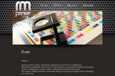 Drukarnia RM-Printer. Bloczki reklamowe, etykiety - Broszury Rzeszów