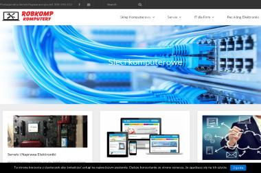 Robkomp Komputery - Strona Internetowa Mogilno