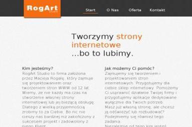 Rogart Studio - Strony internetowe Ostrów Wielkopolski
