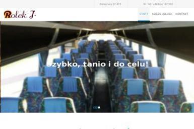 Usługi transportowe, przewóz osób Janusz Rolek - Przewóz osób Zaleszany