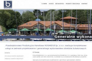 PPH Rosand B Sp. z o.o. - Projekty domów Olsztyn