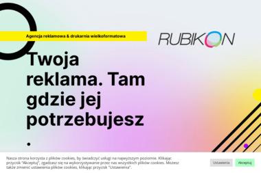 Agencja Marketingowo-Reklamowa Rubikon. Drukarnia wielkoformatowa, banery - Drukarnia Grudziądz