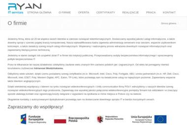 Ryan - Marketing Online Toruń