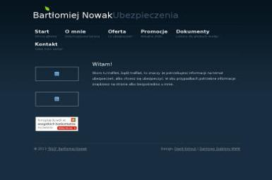 Bartłomiej Nowak Ubezpieczenia - Ubezpieczenia OC Rzeszów