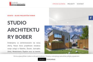 Studio Architektury Bober - Projekty Małych Domów Radlin