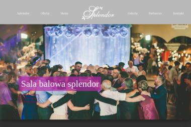 Sala Balowa Splendor. Sala weselna, wesela - Catering świąteczny Bielawa