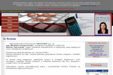 Biuro Rachunkowe Saldo-Bis s.c. Wiesława Smogorzewska, Mariusz Topczewski - Finanse Wyszków