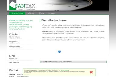 Biuro Rachunkowe Santax Zuzanna Sanetra - Usługi finansowe Cięcina