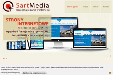 Sartmedia. Tworzenie stron internetowych, projektowanie stron internetowych - Usługi SEO Lublin