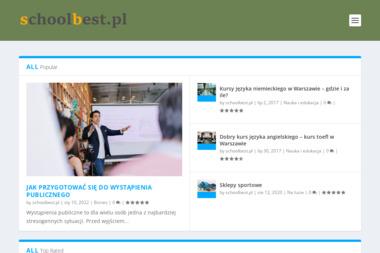 Szkoła The Best Genoefa Gnidka. Języki obce, szkolnictwo - Szkoła językowa Leżajsk