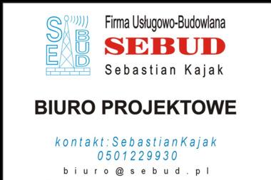 Firma Usługowo Budowlana Sebud Sebastian Kajak - Projektowanie Domów Dobrzyków