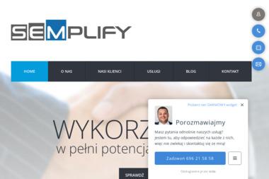 Semplify Piotr Trusiewicz - Pozycjonowanie stron Białystok