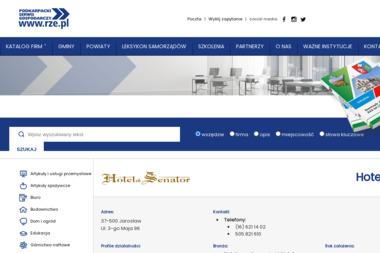 F.H.U.P. Hotelik Senator - Firma Gastronomiczna Jarosław