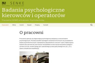 Klaudia Pyżewicz Szkodzińska Pracownia Senke - Poradnia Psychologiczna Kraków
