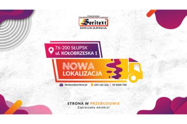 Seritext Pracownia Poligraficzno Reklamowa - Drukarnia Słupsk