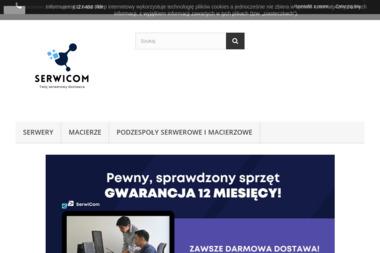 Serwicom Usługi Informatyczne - Projektowanie Stron Internetowych Piła