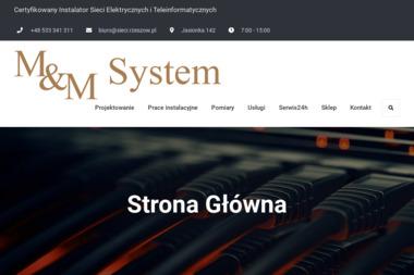 M & M System - Strony internetowe Budy Głogowskie