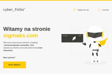 Sigmaks Skałuba Tomasz - Strony internetowe Bukowiec