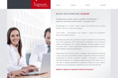 Biuro Rachunkowe Signum. Biuro rachunkowe, księgowość - Biuro Księgowe Piła