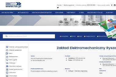 Zakład Elektromechaniczny Basara Ryszard - Naprawa Urządzeń Elektrycznych Sędziszów Małopolski