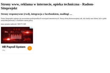 Artur Bukalski Siteprojekt - Strona Internetowa Radom