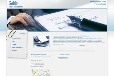 Biuro Rachunkowe SALDO - Usługi finansowe Hajnówka