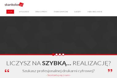 Skankolor.pl - Projektowanie Wizytówek Katowice